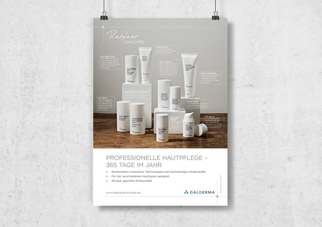 Werbeagentur Düsseldorf - Plakat Restylane