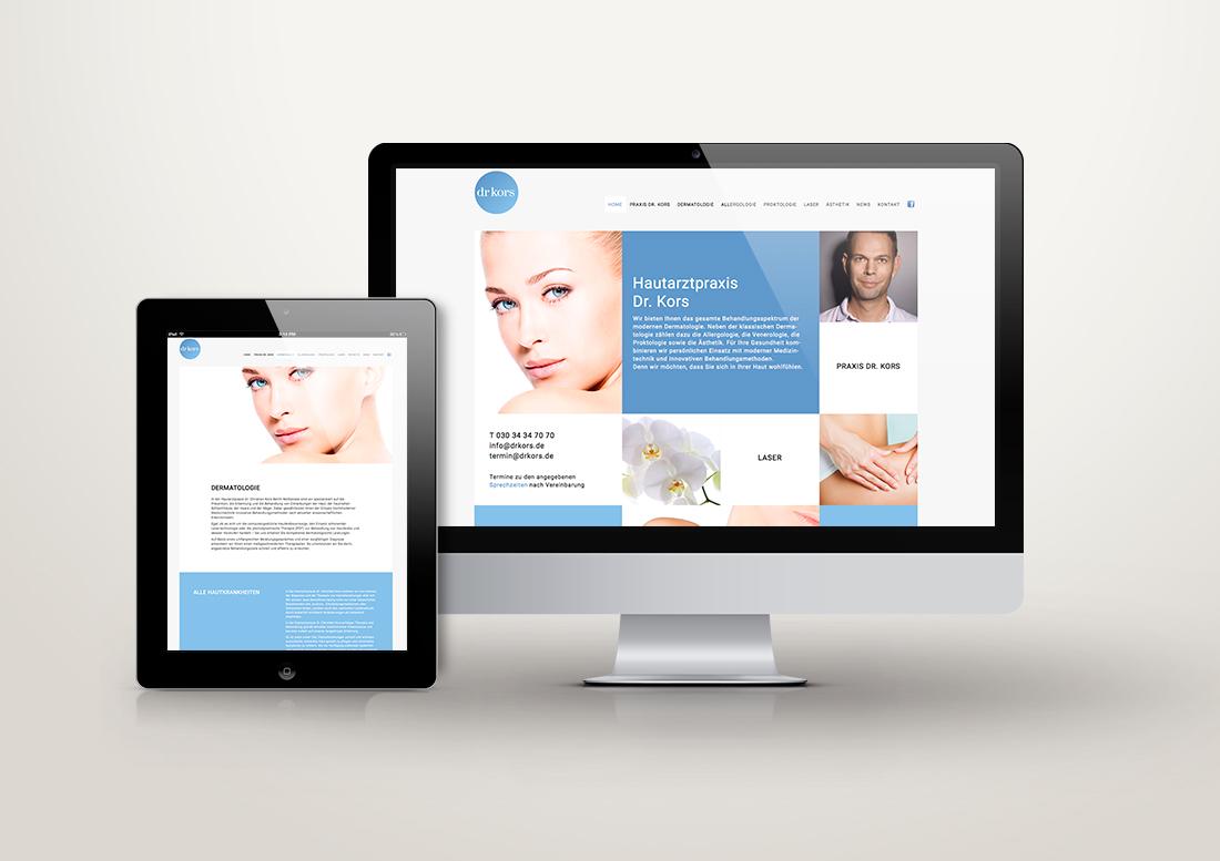 Screendesign, Quadrate, Design, Webseite