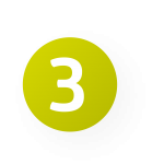 drei zahl icon