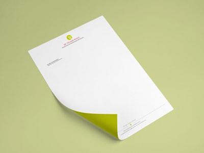 Briefpapier München Grafikdesign