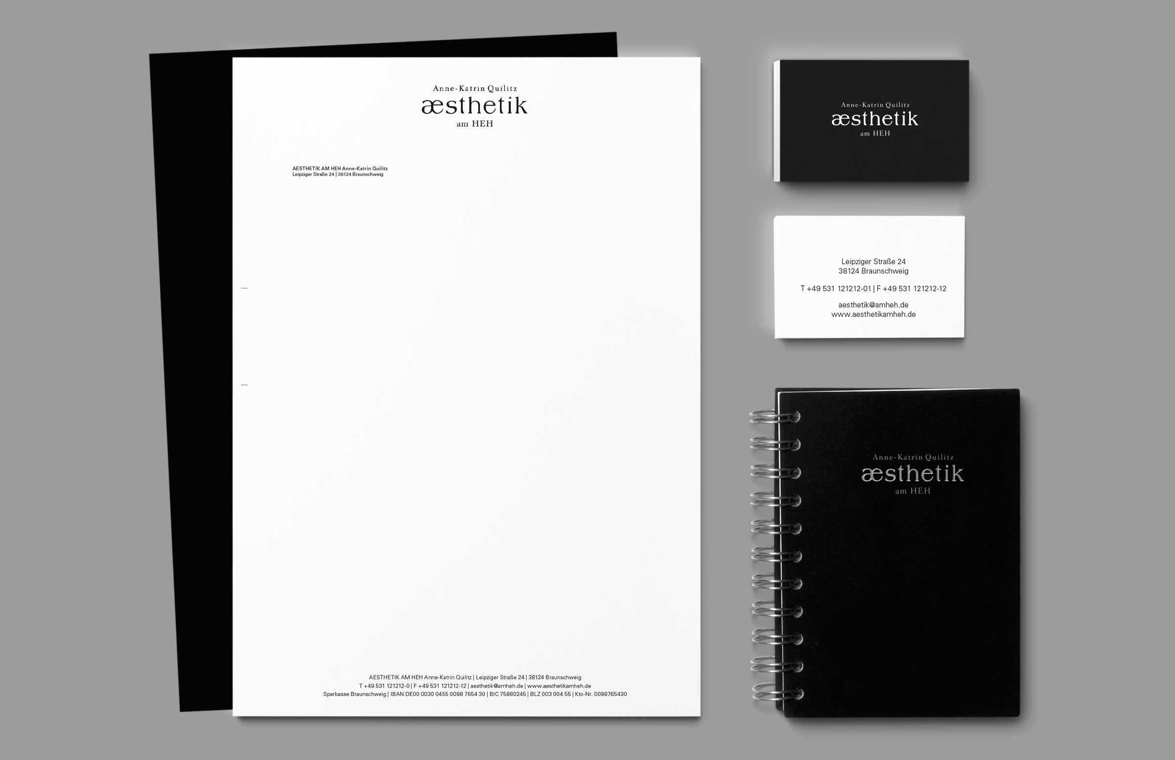 Neue Geschäftsausstattung im neuen Praxis Corporate Design