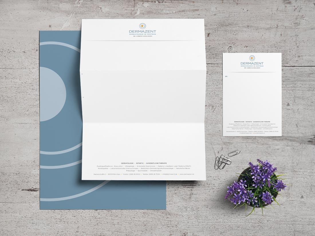 Corporate Design Briefbogen