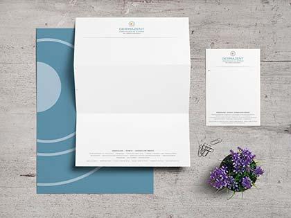 Corporate Design Werbeagentur Düsseldorf Dermazent