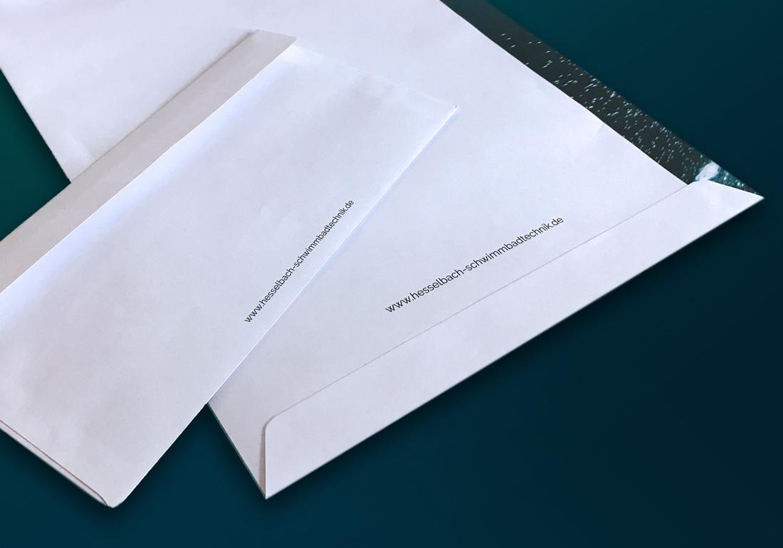 Geschäftsausstattung Büromaterial im eigenen Design Werbeagentur Düsseldorf