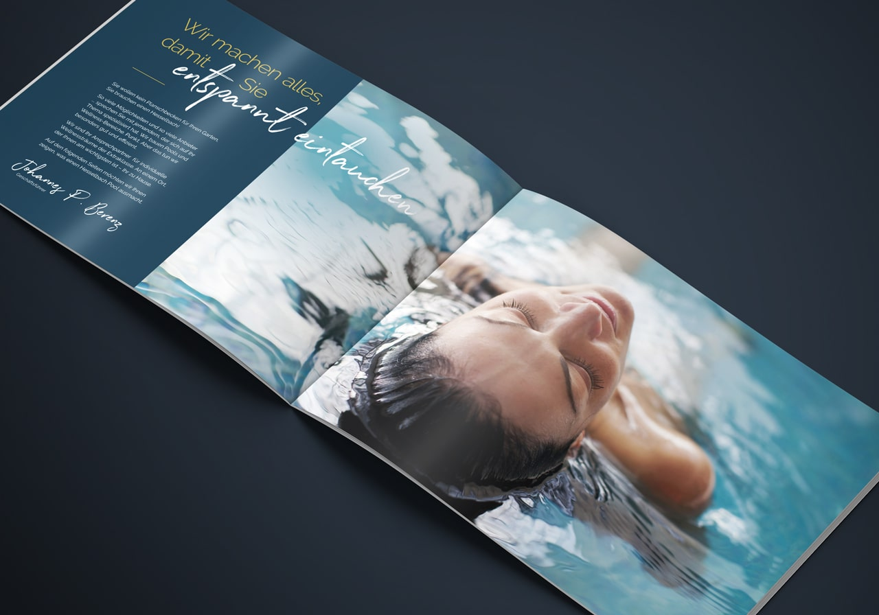 Design Broschüre April5 Werbeagentur Düsseldorf