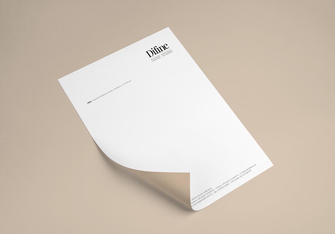 Briefbogen Druck Werbeagentur