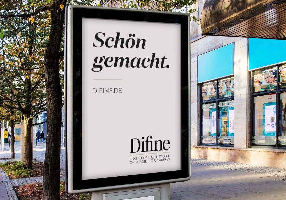 Citylight für Werbung in Innenstädten