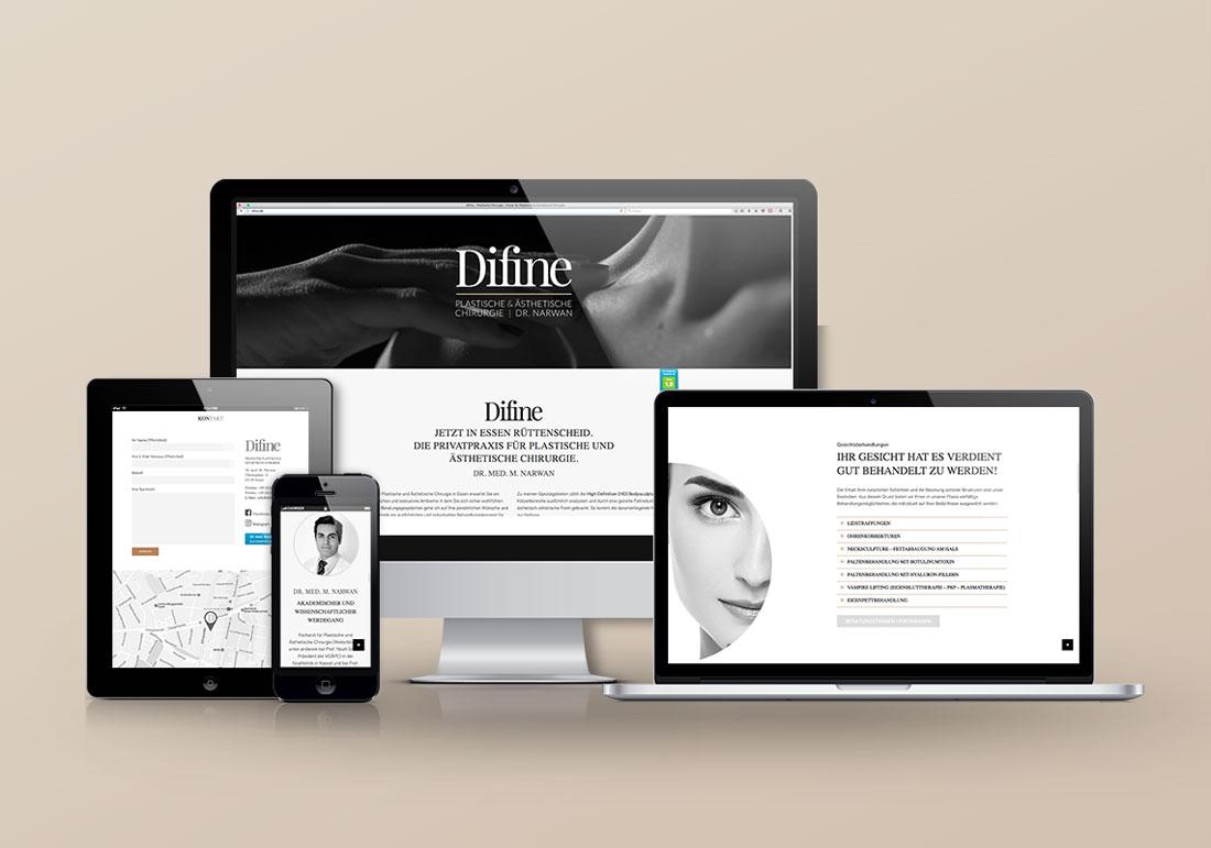 Webdesign und Screendesign aus Düsseldorf
