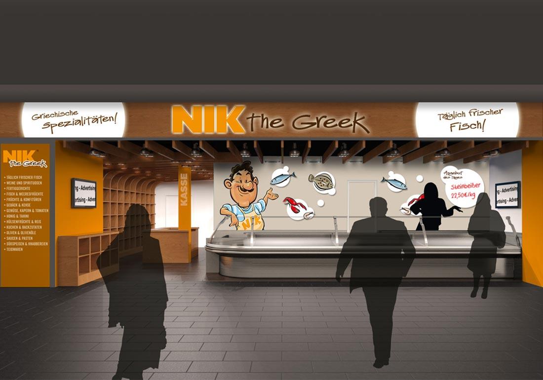 Visualisierung Shop Design
