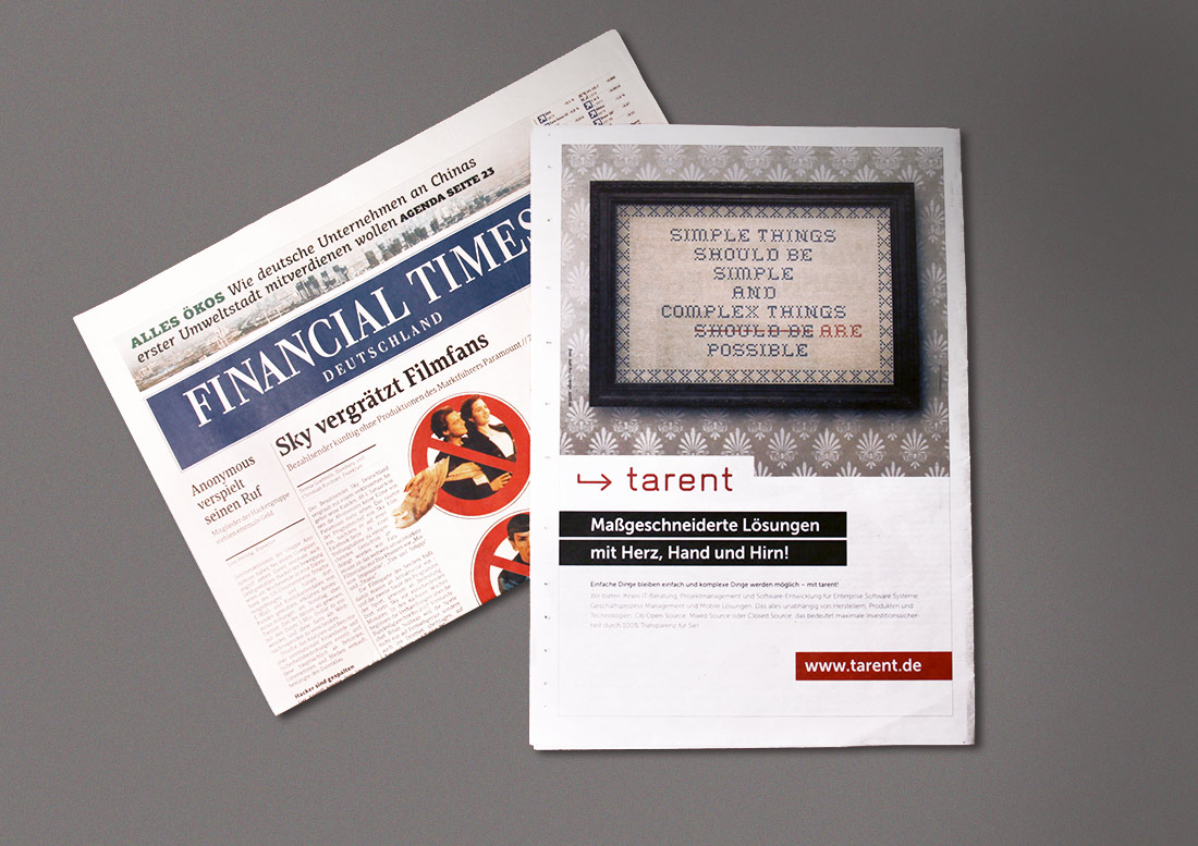 Design Anzeige Keyvisual