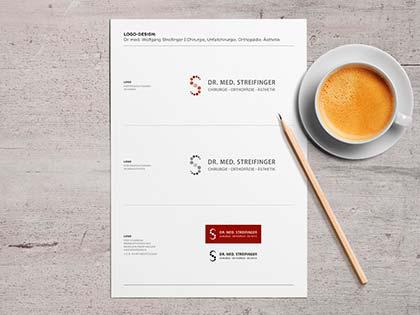 beratung logo design geschäftsausstattung