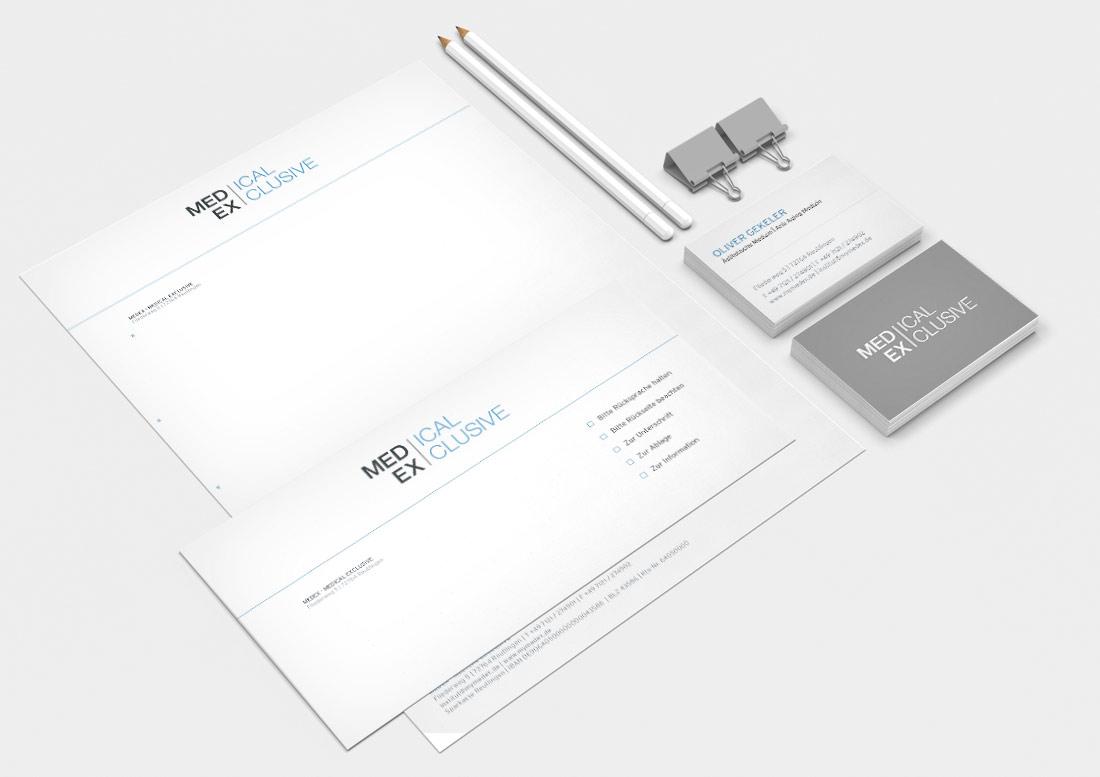 Geschäftsausstattung Printmedien Design