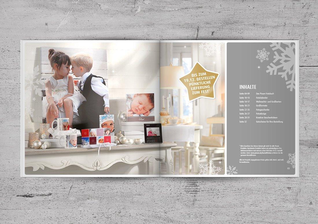 Broschüre Design Konzept