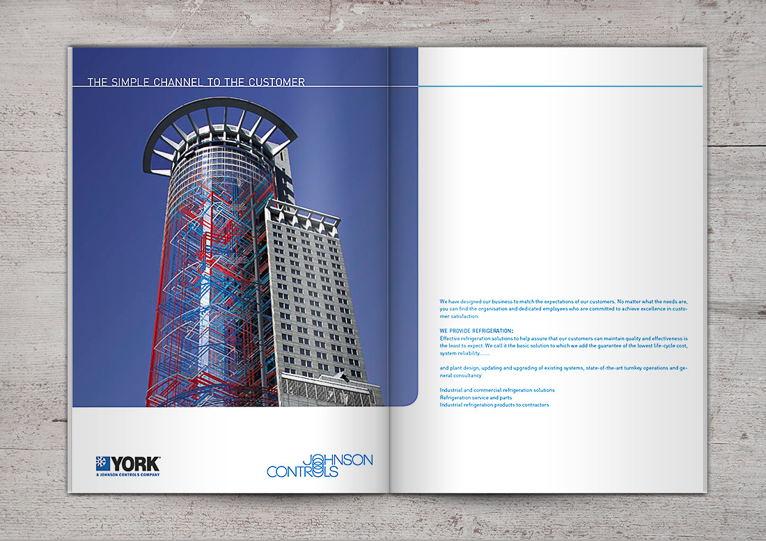 Magazinseite Design Doppelseite