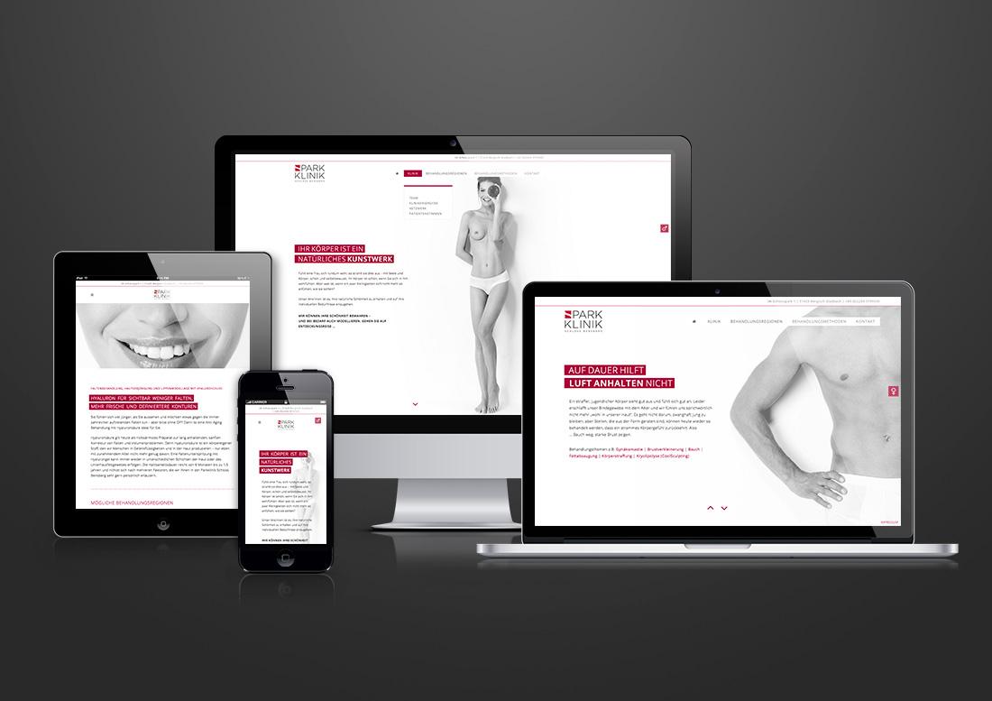 Webdesign klinik düsseldorf