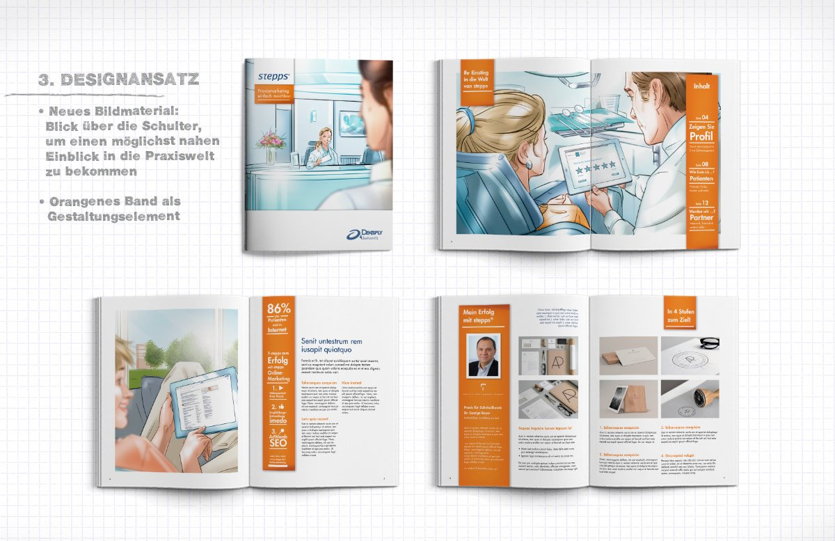 illustration magazin redesign