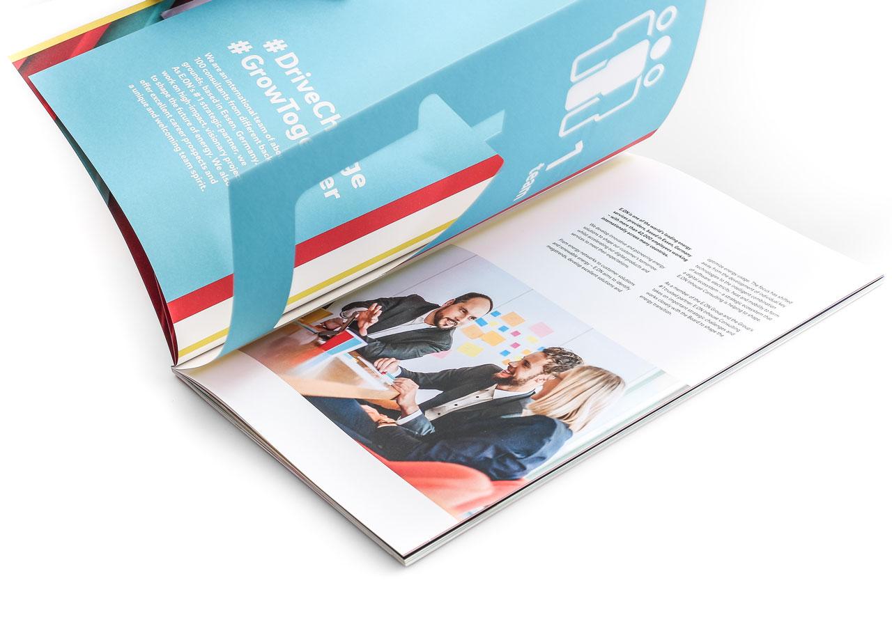 Design von April5 Werbeagentur mit Stanze