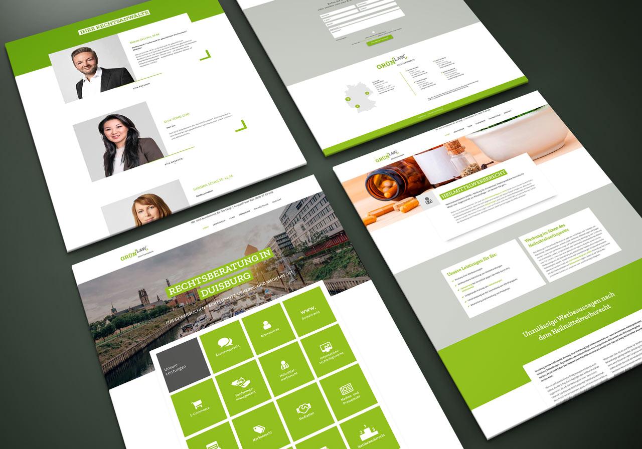 Mobil optimierte Webseite aus Düsseldorf