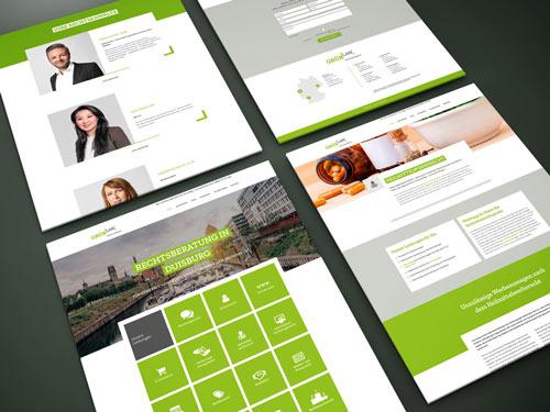 Webdesign für Rechtsanwalt in NRW