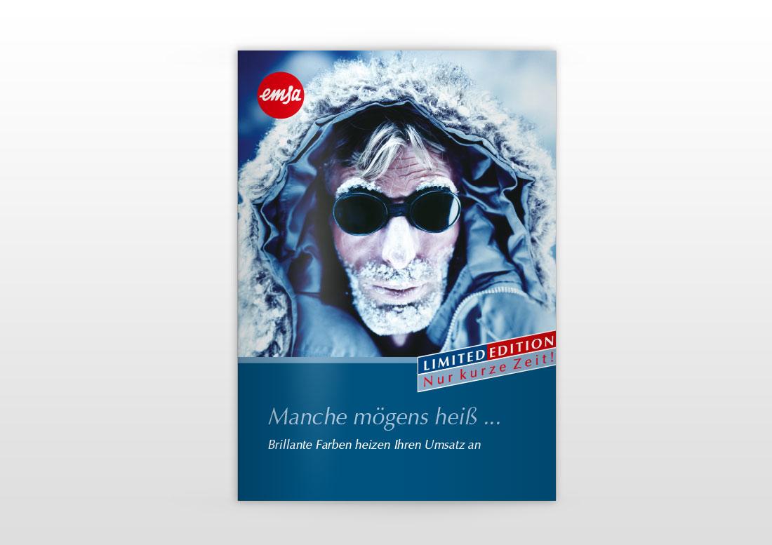 Instore Promotion Plakatdesign