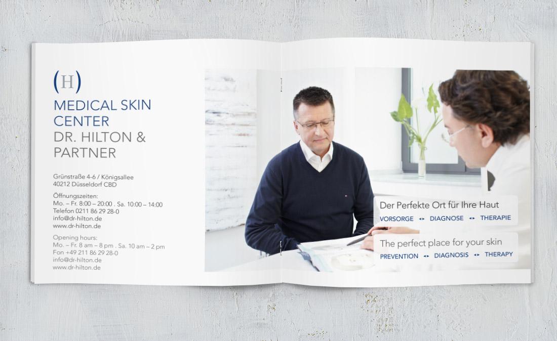 broschüre design praxis
