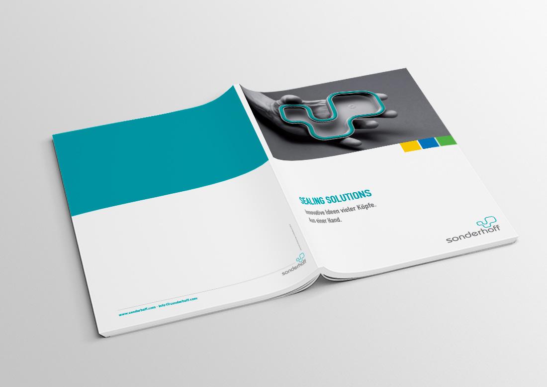 broschüre katalog design