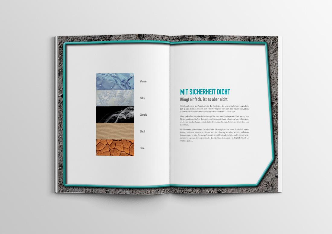 imagebroschüre design