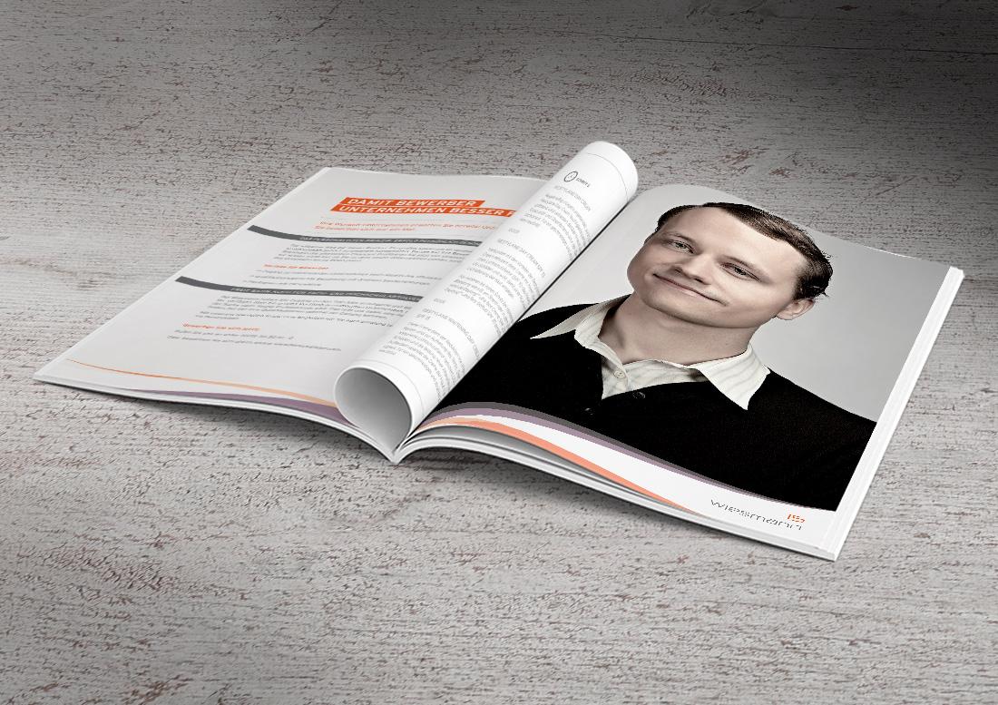imagebroschüre portraitfoto