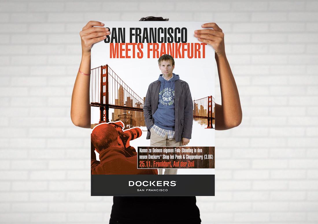 Plakatdesign Dockers Marketing