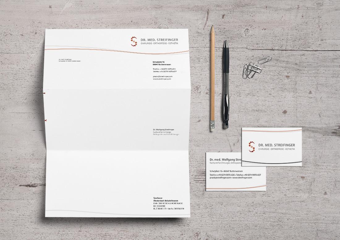Geschäftsausstattung printmedien