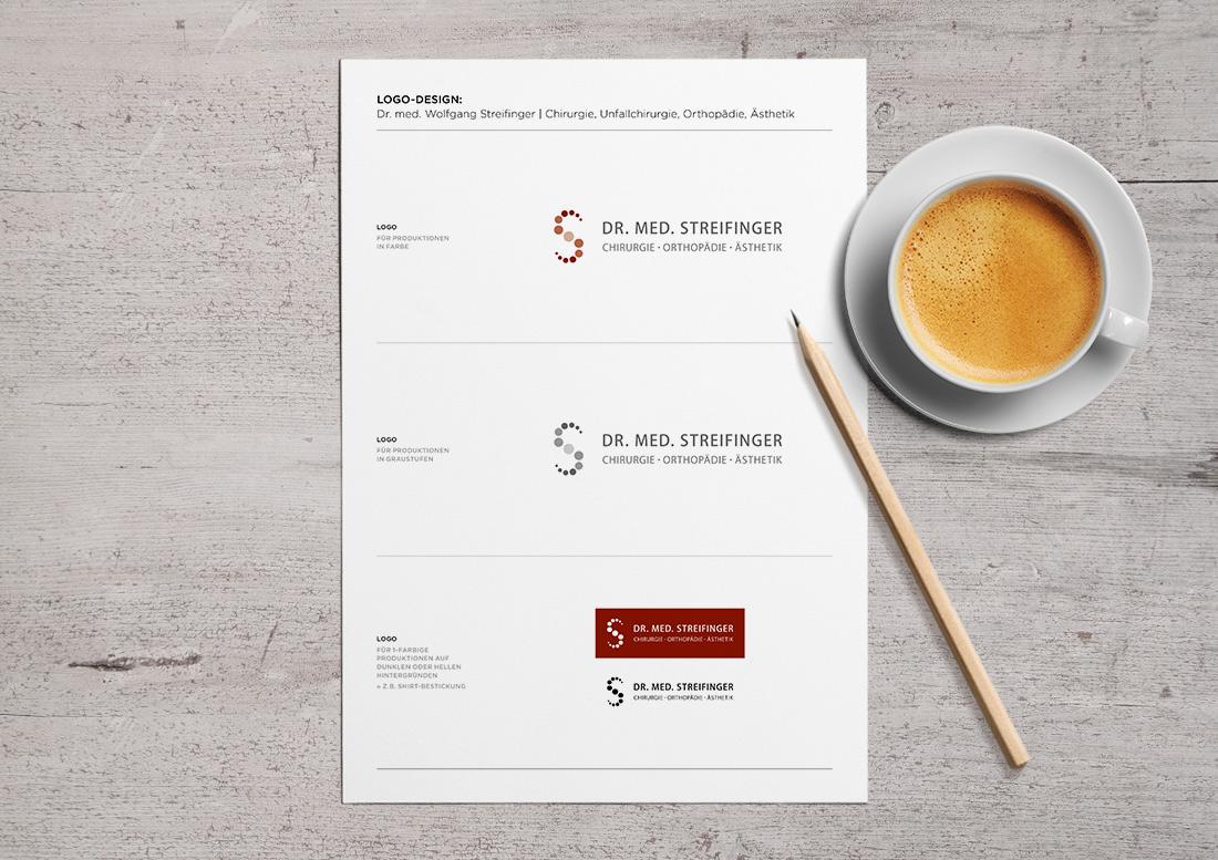 Logodesign Praxiskommunikation