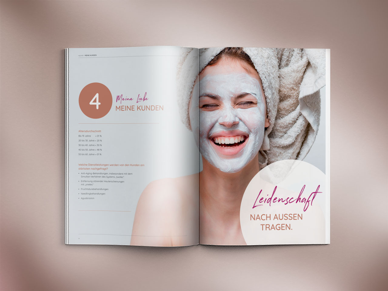 Design und Layout für Magazin
