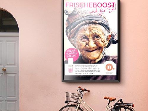 Kampagne Corporate Design Aussenwerbung Printdesign