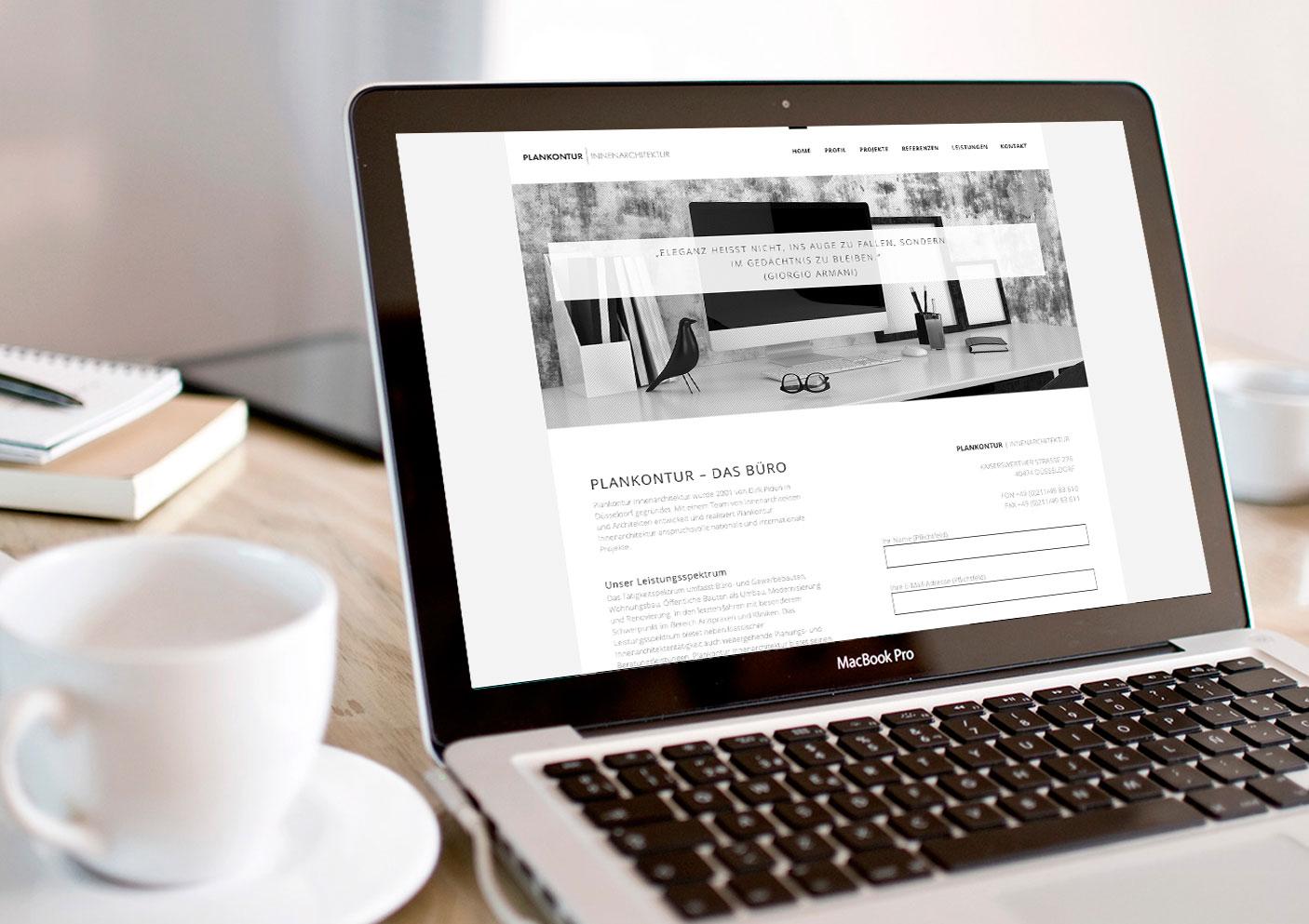 webdesign architekt werbung