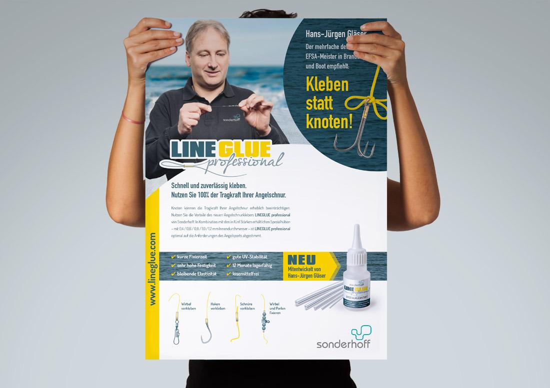 posterdesign print lineglue