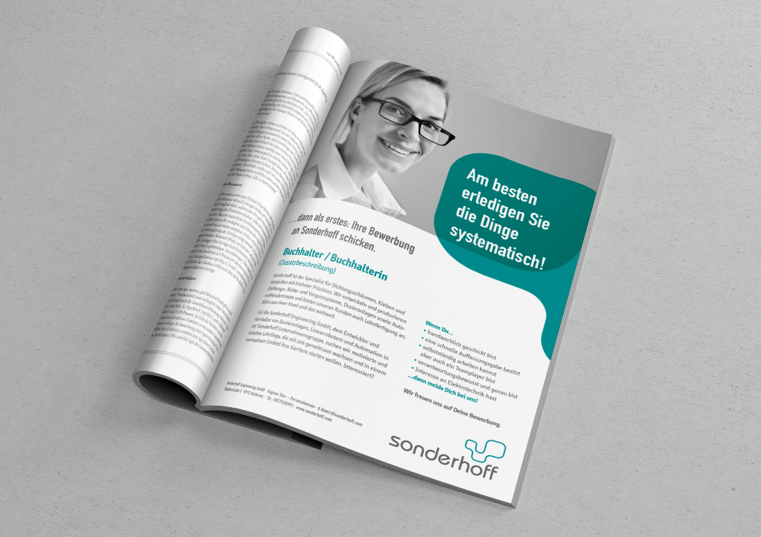 anzeige Magazin design düsseldorf