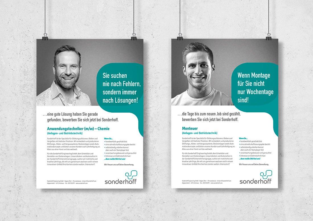 Werbung anzeige design magazin