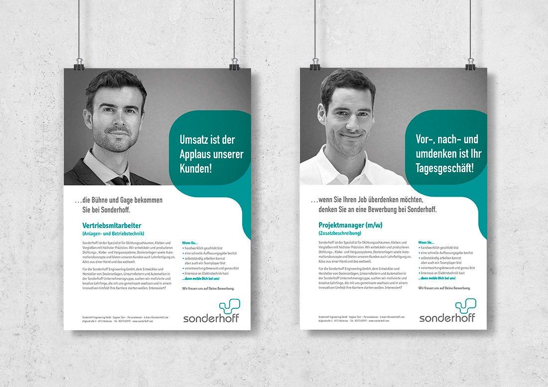 Werbung anzeige magazin design
