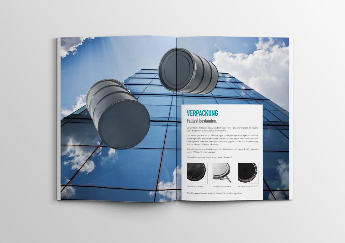 verpackung broschüre design