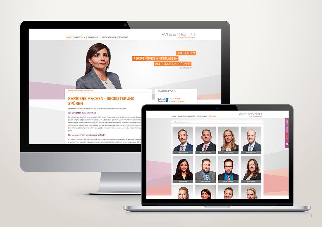 Redesign der responsive Webseite