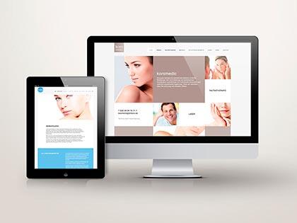 webseite screendesign kommunikation