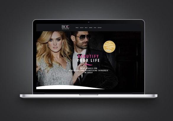 Webseite gestalten lassen Werbeagentur Düsseldorf
