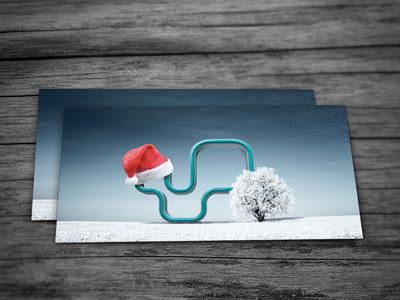 weihnachtskarte design druck düsseldorf
