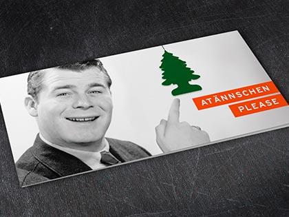 Weihnachtskarte design düsseldorf